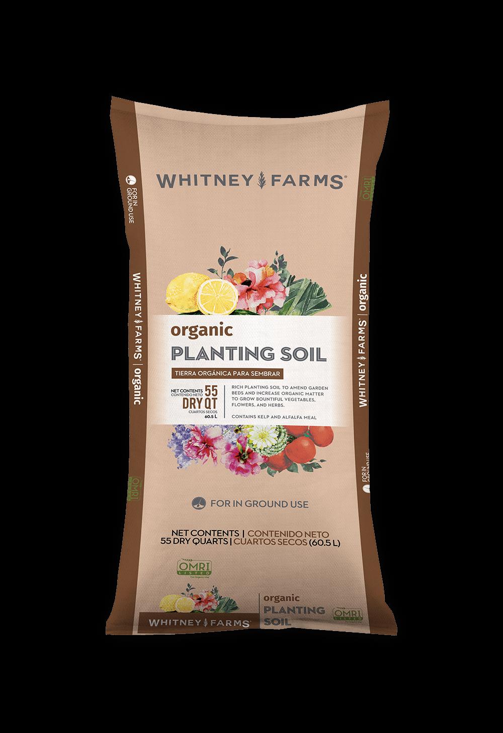 Just Natural Organic Soil Ingredients